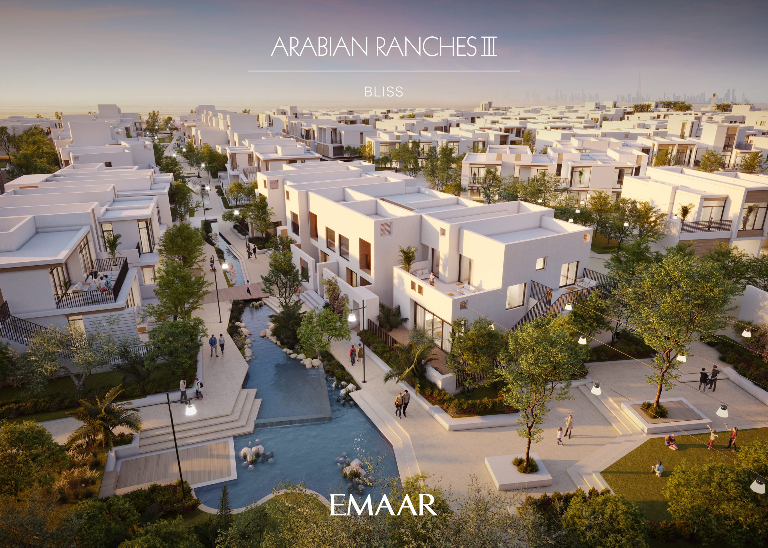 Newly Launched Bliss Townhouses at Arabian Ranches 3